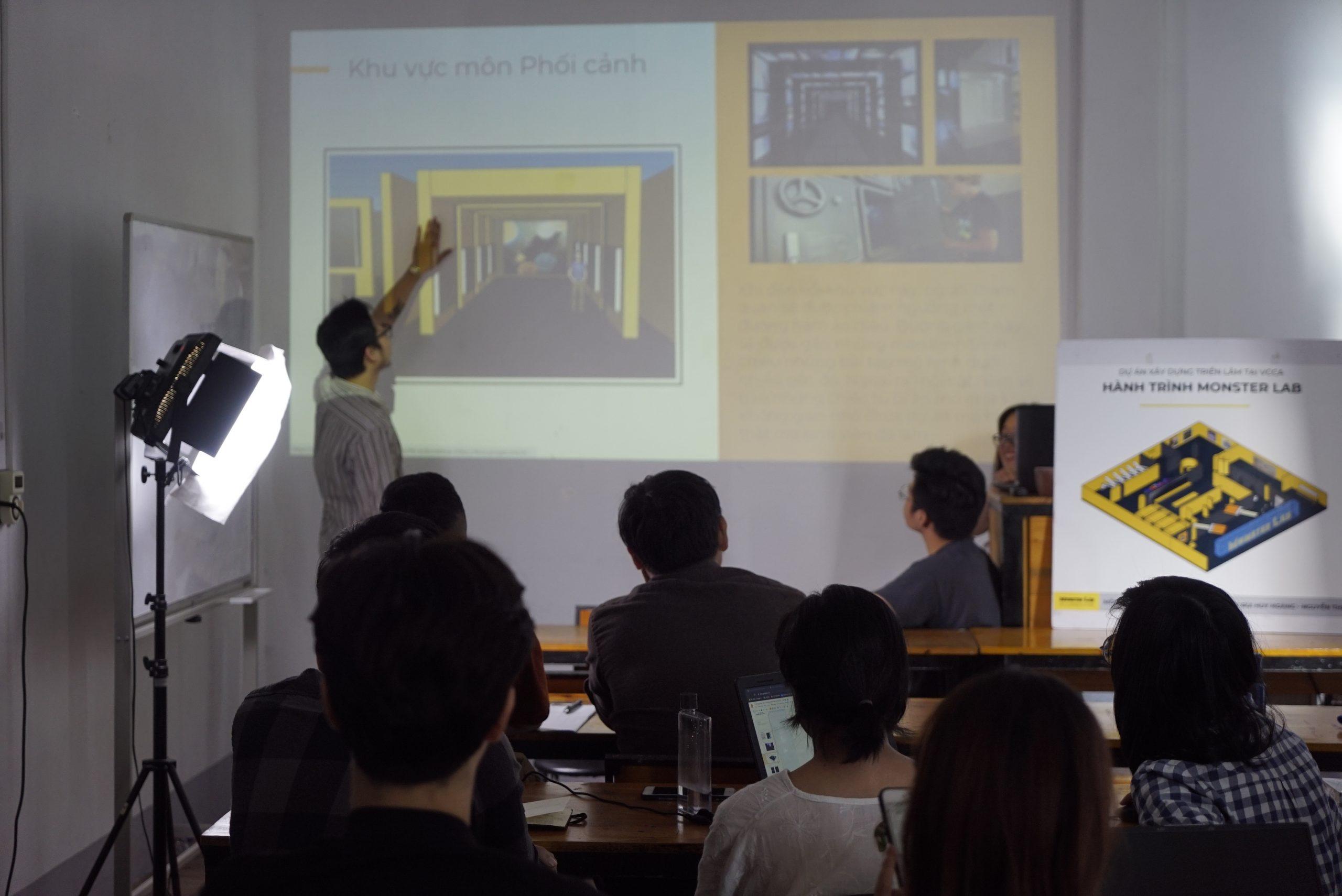 Phương pháp học tập tại Monster Lab: Học thiết kế qua trải nghiệm