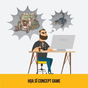 hoa si concept game